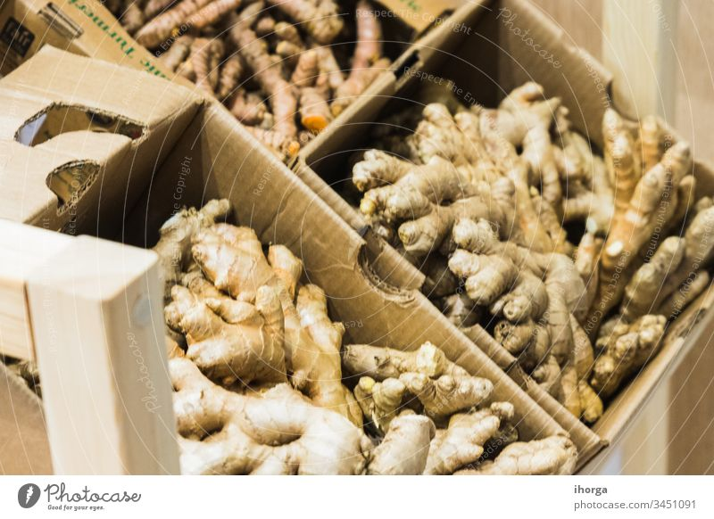 A ginger exposure for sale aroma asian background beverage brown closeup concept cook cooking cuisine curcuma curry delicious diet eating flavor food fresh
