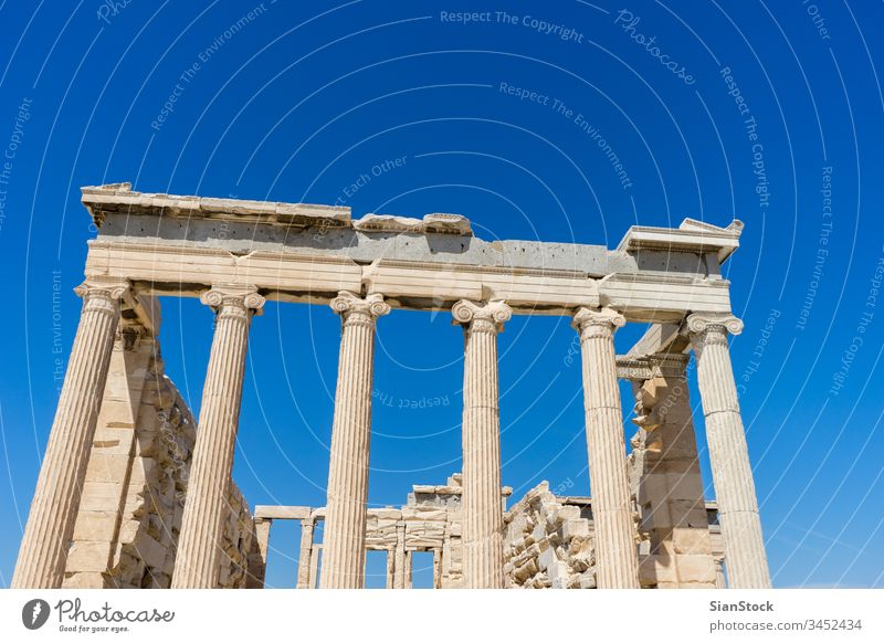 Parthenon temple. Acropolis in Athens, Greece greece acropolis athens ancient building greek parthenon famous architecture landmark classical tourism