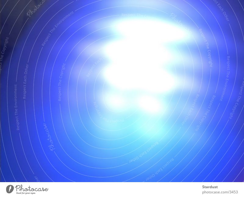 Blue Diffuse Photographic technology Aura