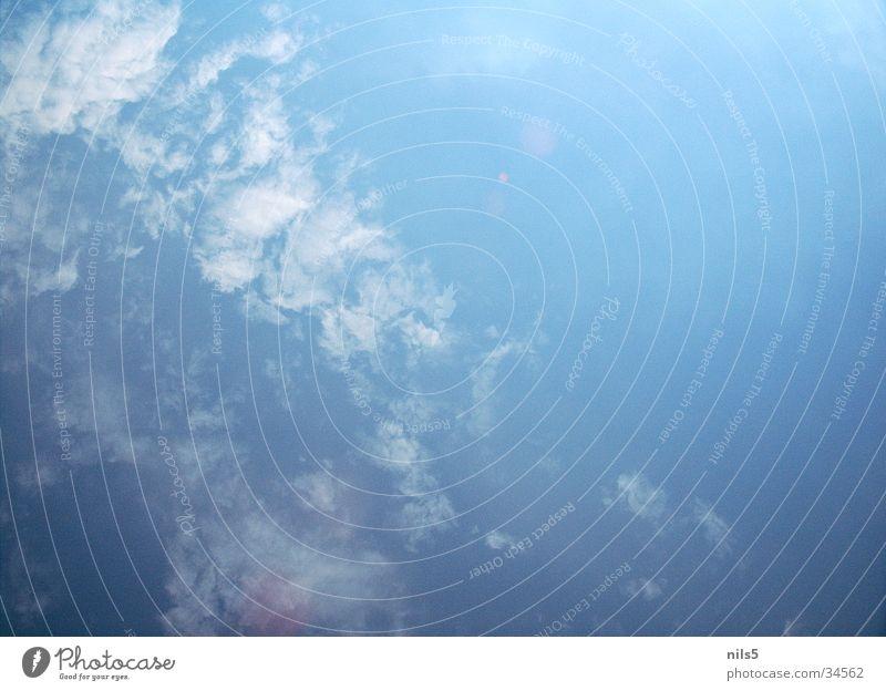 Beautiful Sky Blue Summer Clouds Bright Weather Beautiful weather Flashy Cover Bad weather