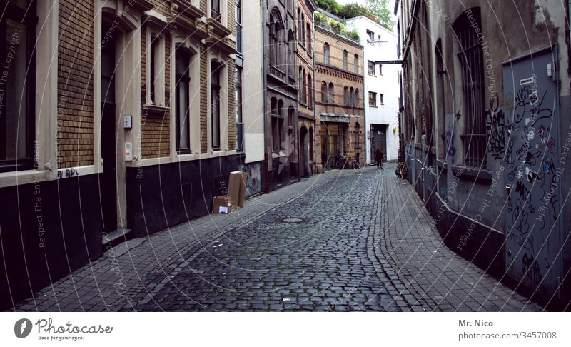 Eigelstein Old town Street Cologne Dirty City
