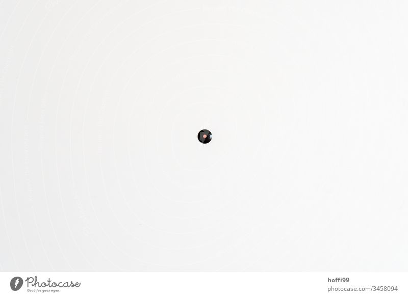 turn on the light - Light switch on white wall red minimalismn Minimalistic minimalistic pattern minimalistic background Wall (building) Design Simple