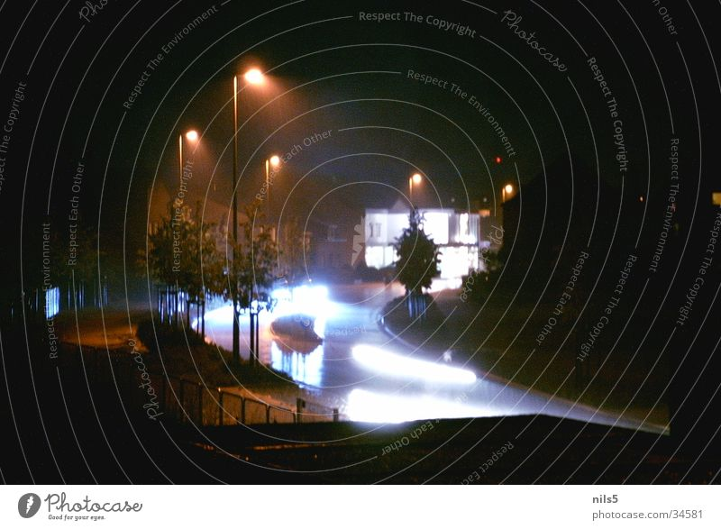 Street Car Transport Speed Flashy