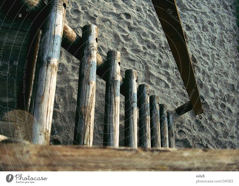 Wood Sand Brown Stairs Leisure and hobbies Climbing Playground Scaffold