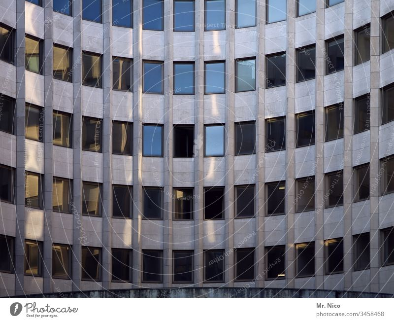 office building High-rise Architecture Business Modern Tall Symmetry Building Facade Window Bank building Abstract Arrangement Downtown Glass urban
