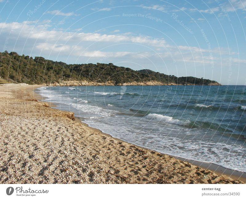 Beach France Bay Southern France Mediterranean sea Cote d'Azur