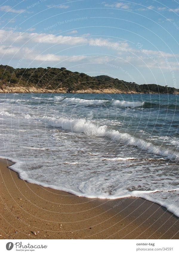 Beach Waves France Bay Mediterranean sea