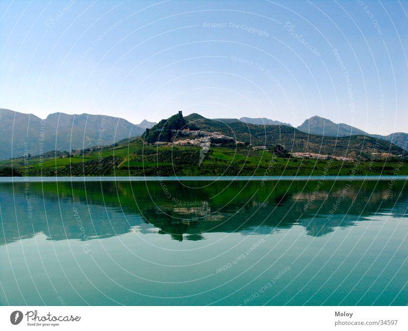 Water Far-off places Mountain Lake Village Cadiz Andalucia Zahara de la Sierra