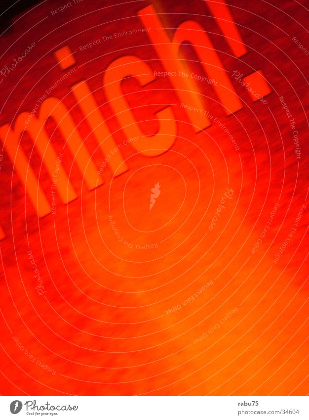 orange Long exposure cigarette machine West Advertising Orange