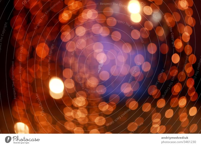 abstraction with de focused and blurry backgrounds. colorful blurred bokeh background with retro effect beautiful bright design texture wallpaper holiday art