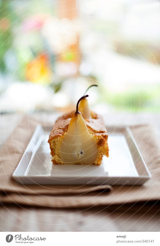 Fruit Nutrition Food photograph Sweet Candy Delicious Cake Plate Dessert Pear