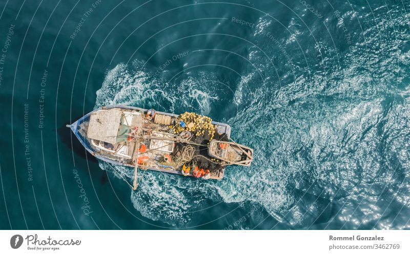 Aerial view the Fisherman in coasts of Lima, Peru port fishing-trawler navigate shipping fisher sky maritime fishery callao pisco coastline lima mediterranean