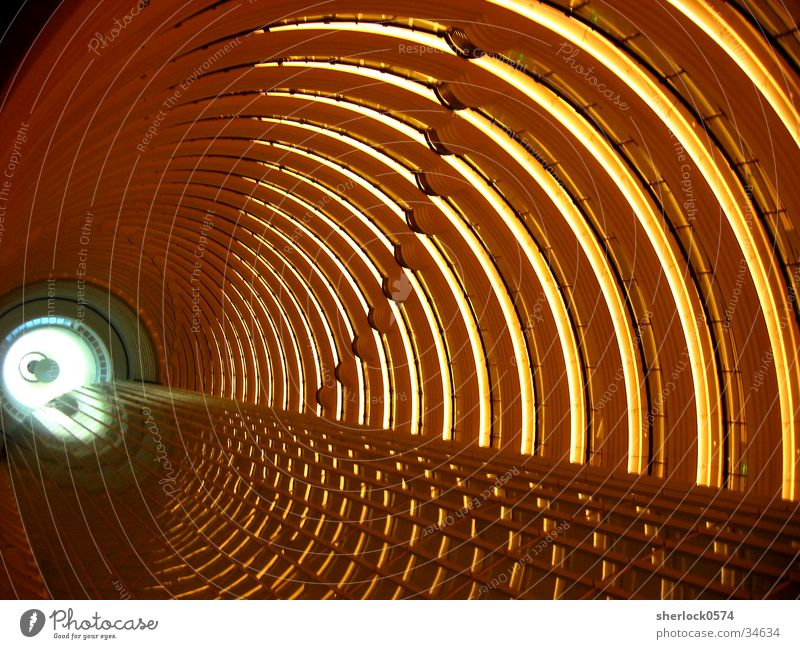 Above Lighting Architecture Vantage point Asia China Tunnel Story