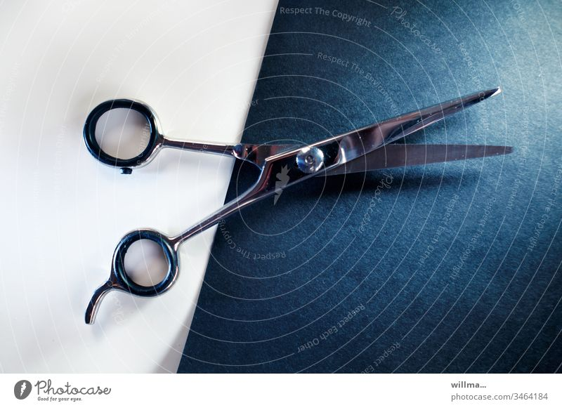 scissors on black and white paper Claw Paper Colored paper White diogonal Hair clippers Handicraft Leisure and hobbies recreational activity Photochallenge