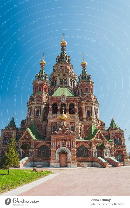 Powerful building with strong structures St. Petersburgh Russia travel Architecture Manmade structures Exterior shot Tourist Attraction Historic