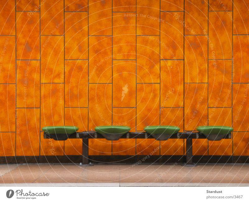 Wait Transport Tile Station Underground Seating