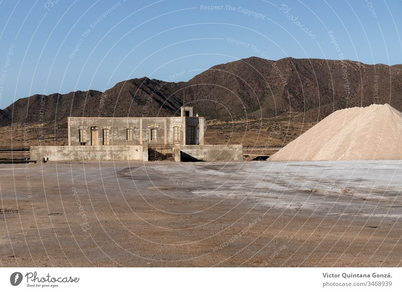 Abandoned factory Almería adobe archaeology architecture arid branch cooperative desert dust europe firm house industry landscape mill mine mud nature no person