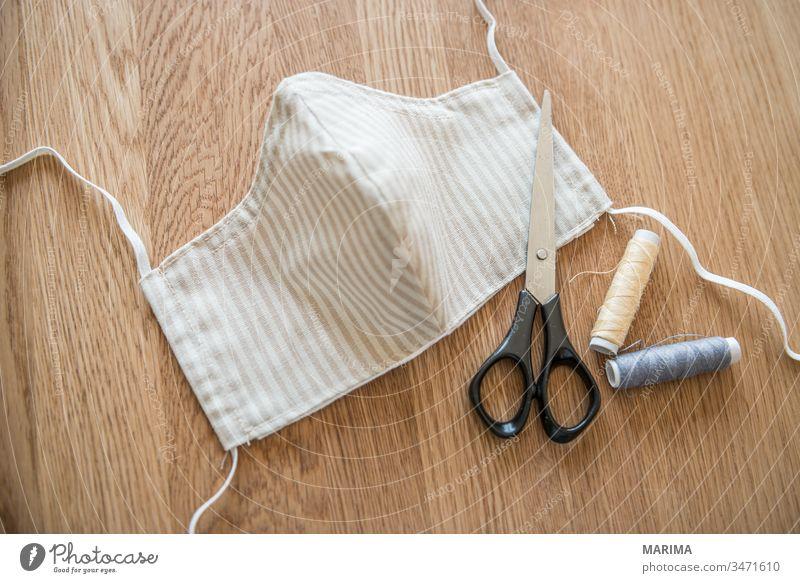 Respirator mask 2020 Infection Breath Respiratory protection Cotton plant corona coronavirus DIY Epedimy thread peril Face Healthy Health care flu Illness Mask