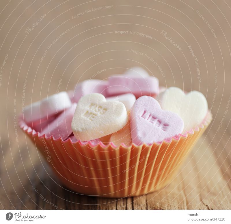 a sweet weekend Food Dessert Candy Nutrition Eating Sweet Heart Sincere Hearty Heart-shaped Lovesickness Declaration of love Sugar Icing Calorie Valentine's Day