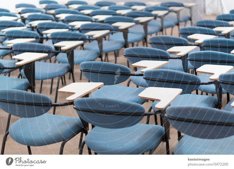 Empty conference hall. lecture hall architecture business auditorium classroom presentation chair seat row nobody empty education indoors university meeting