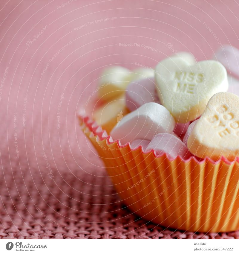 kiss me & goodbye Food Candy Nutrition Eating Sweet Multicoloured Heart Sincere Warmest congratulations Kissing Valentine's Day Infatuation Love Cooking