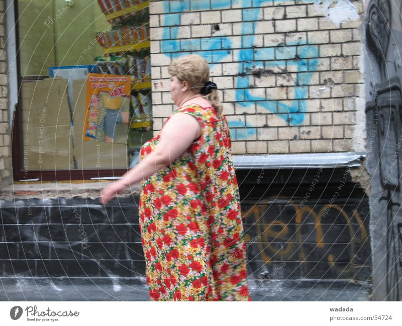 ghetto Ghetto Town Human being moscow woman Russian Wall (barrier)
