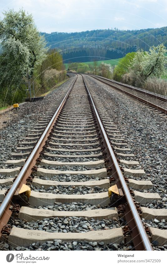 rails Traffic infrastructure Train Railroad Railroad tracks Lanes & trails Direct Rail transport turnaround transport network Schedule suicide