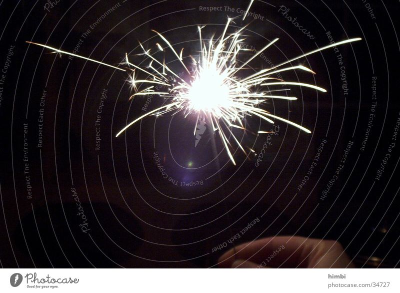 sparkler Sparkler Night Leisure and hobbies Firecracker Blaze
