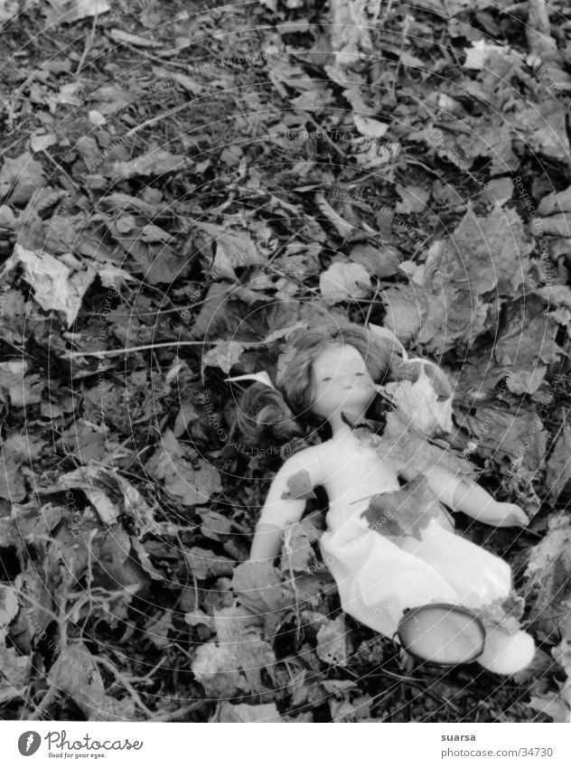 It happened in broad daylight. Child Androgynous Leaf Doll Anger Hatred Helpless Perpetrator child abuse Grief Aggression Disaster Mysterious Infancy Might