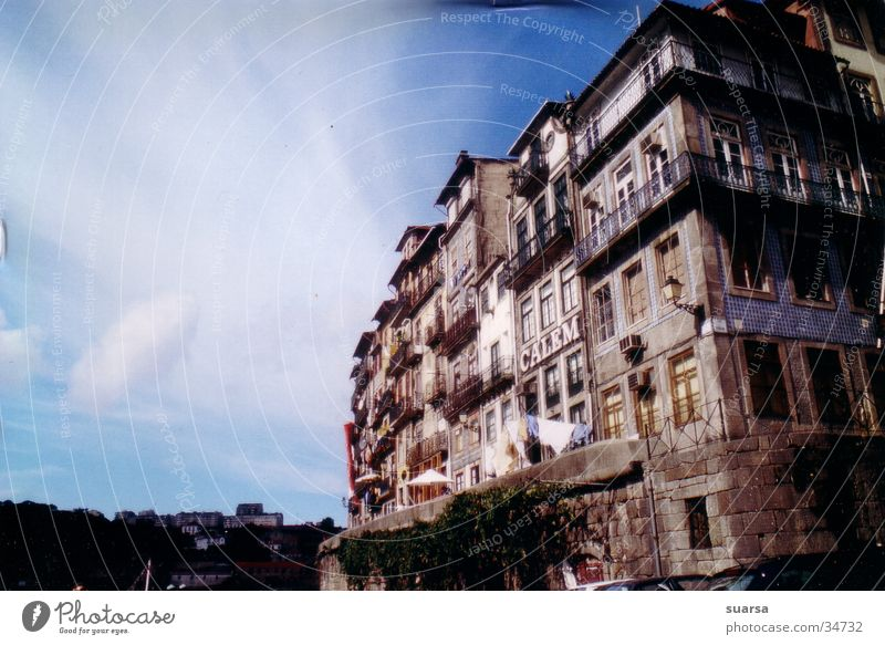 Old Vacation & Travel Sun House (Residential Structure) Architecture Coast Building Facade Europe Manmade structures Downtown Portugal Old town Food Port Populated