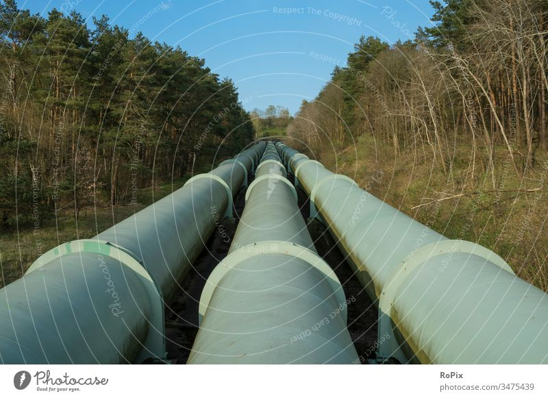 Pipelines of a pumped water power plant. scotland Landscape Highlands highland Willow tree Scotland sheep pasture England landscape Wall (barrier)