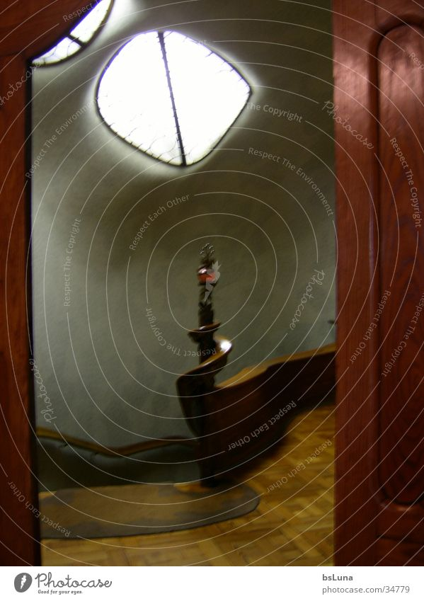 Joy Moody Architecture Stairs Handrail Snail Staircase (Hallway) Barcelona
