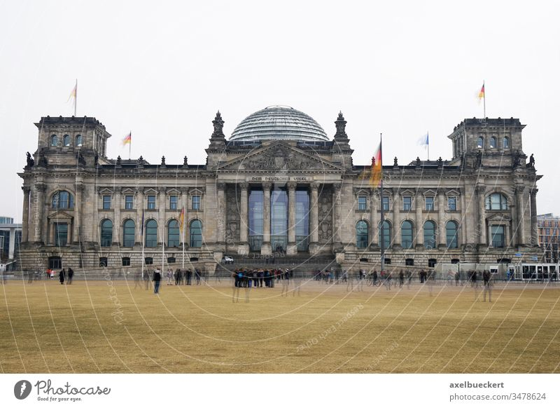 Bundestag german federal parliament building in Berlin Germany bundestag reichstag berlin government germany landmark capital city tourism tourist attraction