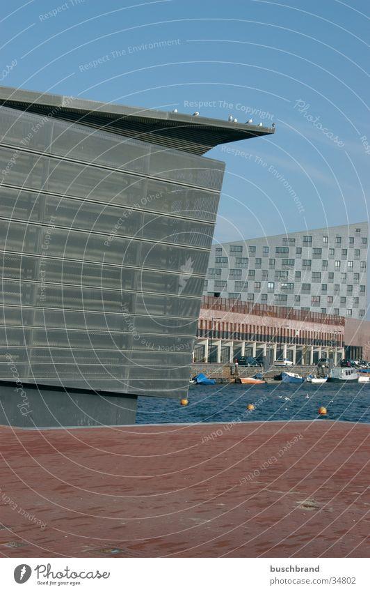 Metal Architecture Crazy Harbour Grating Futurism Amsterdam
