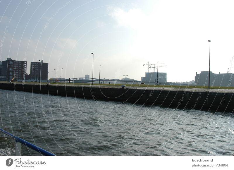 Sky Water Coast Harbour Amsterdam