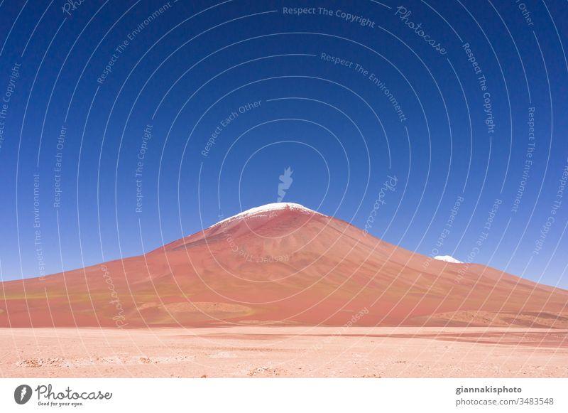 Volcano Licancabur, Altiplano, Bolivia, South America Adventure Altiplano Lakes Andes Andes Mountain Range Beautiful Beauty Of Nature Blue Blue Horizon Blue Sky