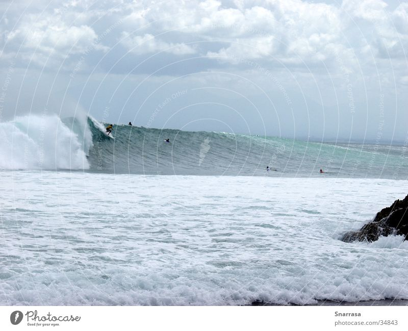 Waves Speed Surfing Extreme Bali Indonesia Extreme sports