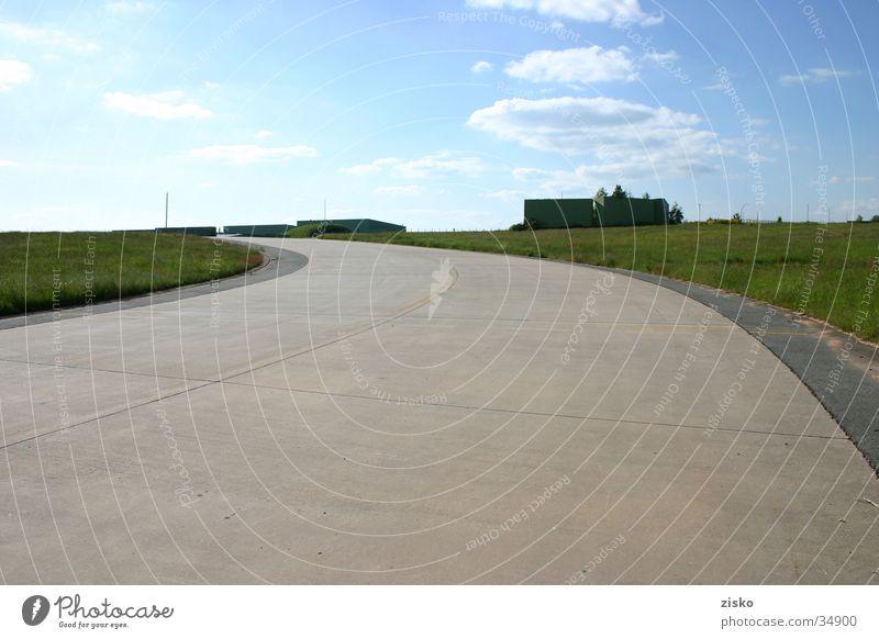 Sky Street Airport Runway Airfield