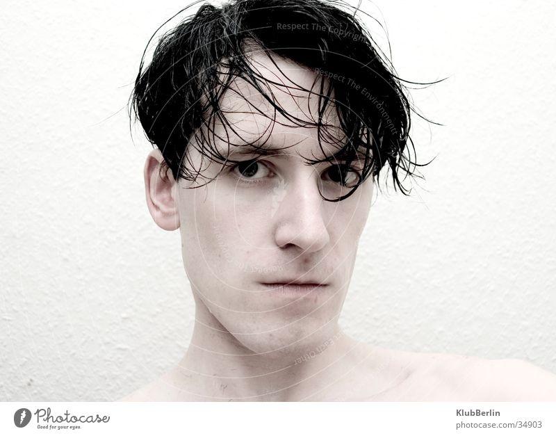 Man Beautiful Cold Clarity Facial hair Direct Hard Motionless Beard Intensive Shaven