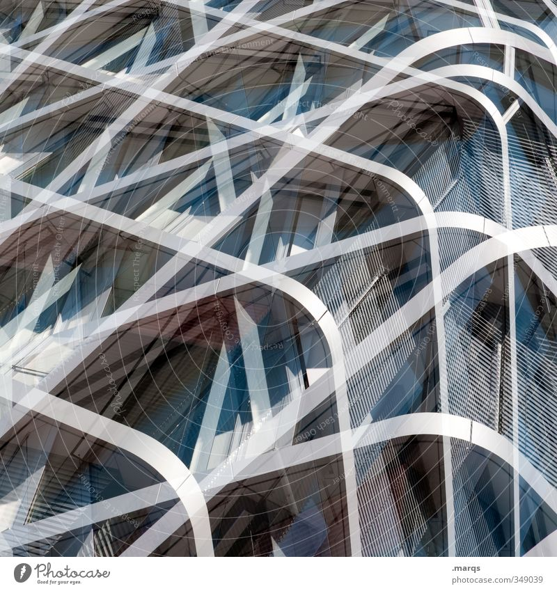Architecture Style Exceptional Line Metal Art Facade Glittering Elegant Lifestyle Design Modern Esthetic Future Cool (slang) Creativity