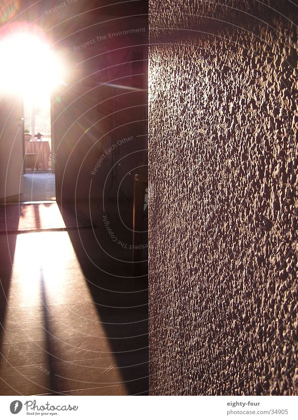 on Sundays Light Patch of light Wallpaper Flashy Dazzle Kitchen Morning Shadow Lens flare eighty-four