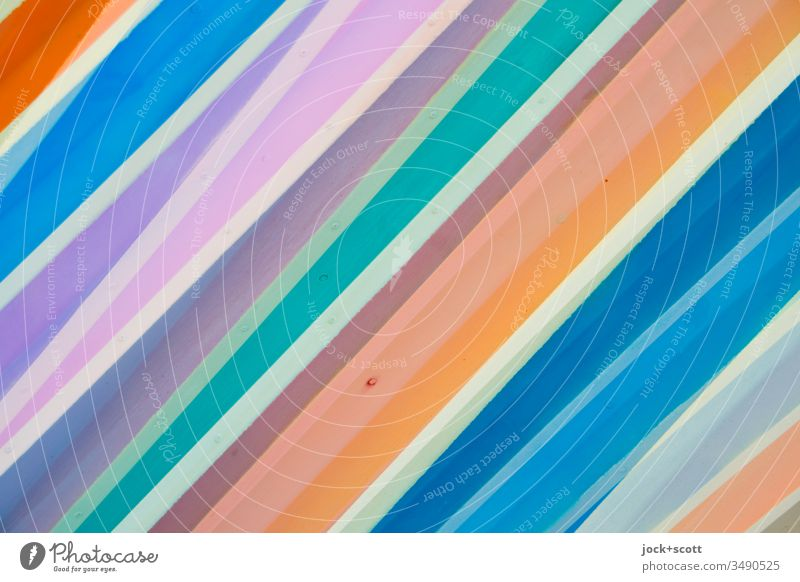 colourful stripes/lines Side by side Surface Many Background picture Structures and shapes Stripe Abstract Line Pattern Detail Multicoloured Creativity