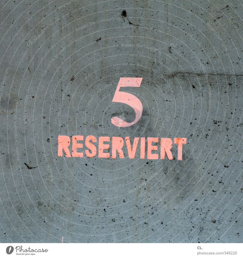 Wall (building) Wall (barrier) Gray Stone Pink Transport Wait Signs and labeling Digits and numbers Logistics Services 5 Mobility Boredom Parking lot