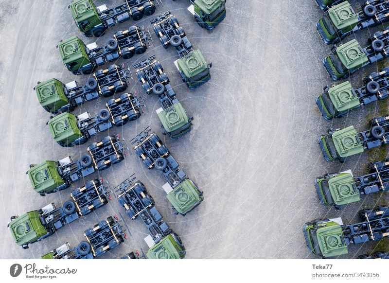 green truck cabins from above trucks from above truck cabin from above modern truck truck transportation modern transportation street transportation