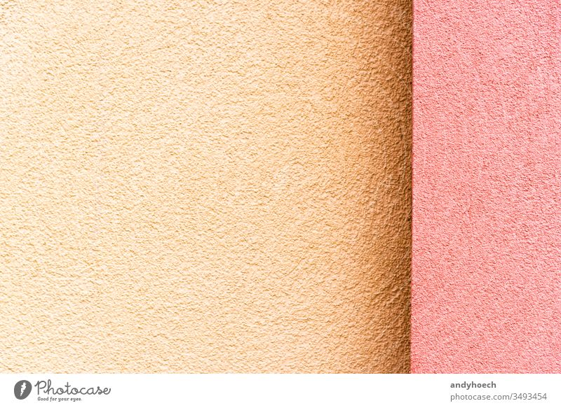 The new house facade in pink on the right and beige on the left abstract architecture backdrop Background backgrounds building building exterior built structure