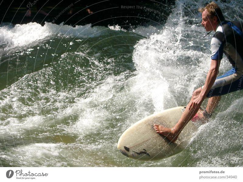 Surfers. Photographer: Alexander Hauk Waves White crest Surfboard Sports Water Splash of water