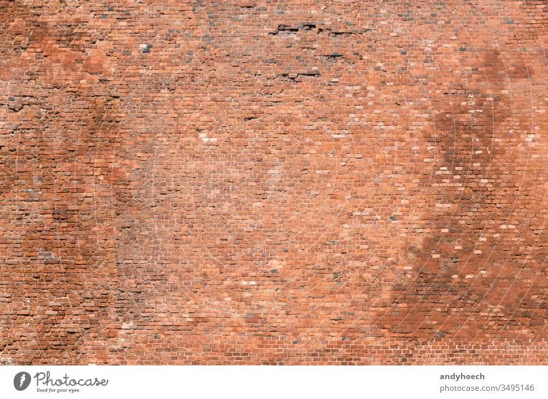 The old brick wall with many stones abandoned abstract aged backdrop Background backgrounds blank bricks brickwork brown building color construction copy space