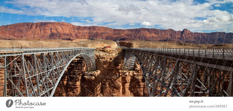 page change Vacation & Travel Tourism Adventure Nature Landscape Clouds Rock Canyon Bridge Manmade structures Architecture Transport Traffic infrastructure