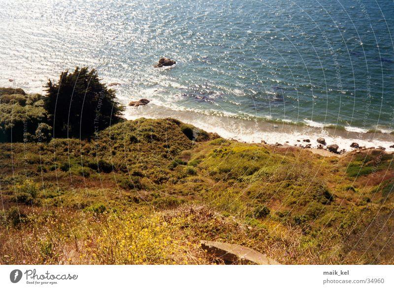 North Beach, San Francisco Ocean Waves Surf Nature Landscape Water
