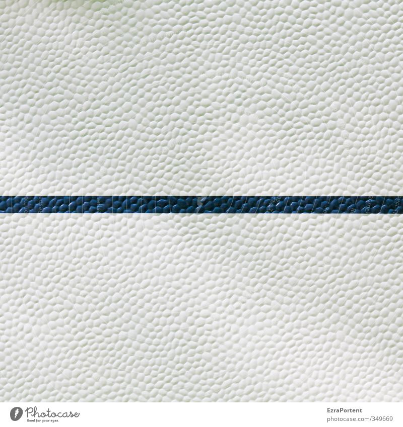 Blue White Style Line Exceptional Art Design Esthetic Few Minimalistic Blue-white Surface structure